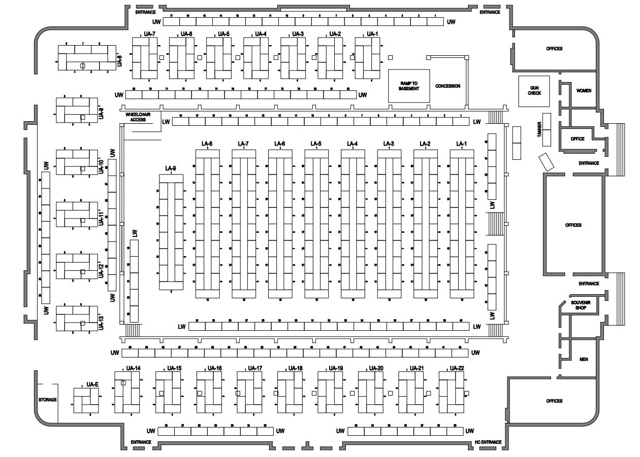 Colorado State Fair Grounds Map